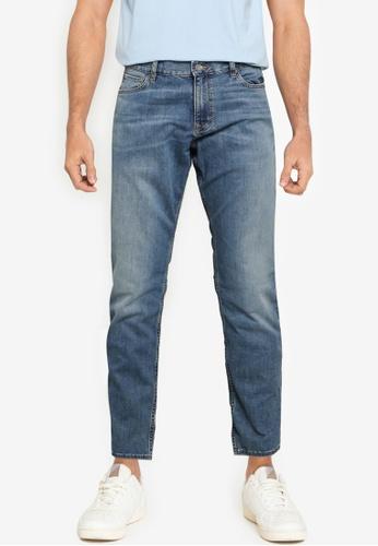 Banana Republic blue Slim Dry Indigo Traveler Jeans FC3C7AA9E7566AGS_1