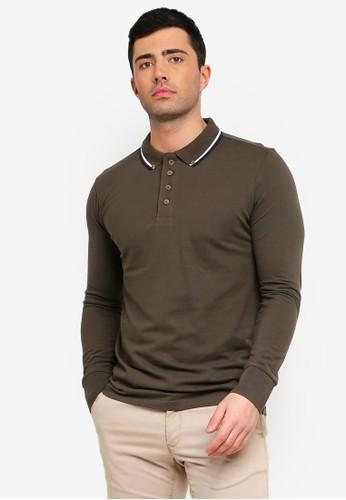 Brave Soul multi Kennedy Polo Shirt 855C8AA49E0A96GS_1