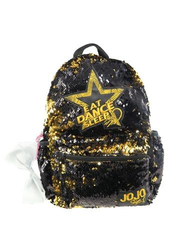 Jojo Siwa black Jojo Siwa Reversibles Sequin Black Kids Backpack (14-inch) 29195KC7F63964GS_1
