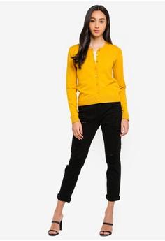 Sisley Round Neck Knit Cardigan HK  695.00. Sizes XS S M L ffb67a737