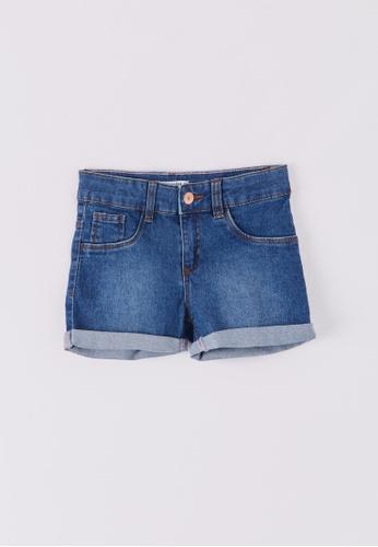 Terranova multi Girls' Medium Denim Shorts 427EAKA9449065GS_1