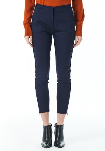 United Colors of Benetton navy Stretch Chinos 60B4DAAEE3B716GS_1