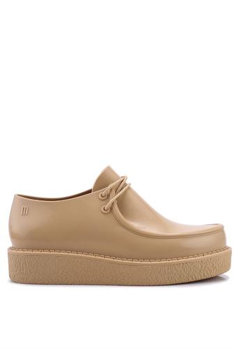 Melissa 米褐色 厚底牛津鞋 24A0CSHC05D0CAGS_1