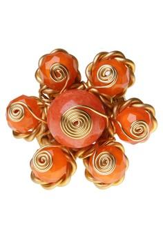 Twisted Sunshine Flower Ring