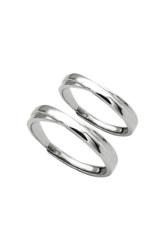 LYCKA silver LDR1359 S925 Silver Simple Classic Ring F4231ACF933768GS_1