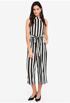98b27a3045ca7 AX Paris black Stripe Jumpsuit 211EDAA4425BA4GS 1