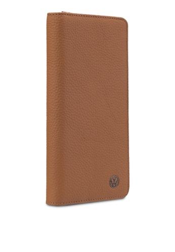 Volkswagen brown Volkswagen Bi-Fold Long Wallet VO089AC56GKLMY_1