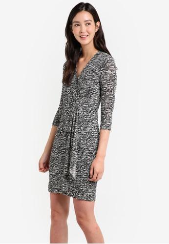 ZALORA black Wrap Front Dress 869F4ZZD091231GS_1