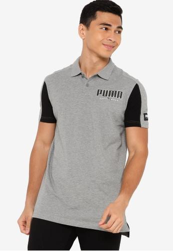 PUMA 灰色 Core 運動s POLO衫 BDE6CAA361CA75GS_1