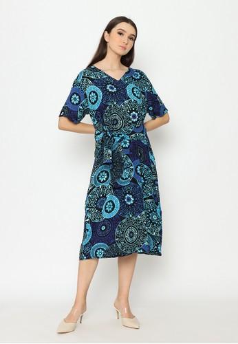 Cynthia blue Cynthia New Collection Vol 1 Batwing Maxi Dress All Size - Blue 7A2FFAA4A33F28GS_1