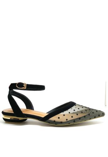 Twenty Eight Shoes black Ankle Strap Ballet Flats 8CB5CSH31ED12FGS_1