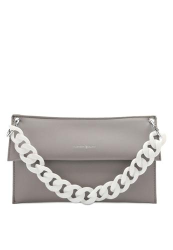 PLAYBOY BUNNY grey Brand Shoulder Bag 5ABD3AC29732B9GS_1