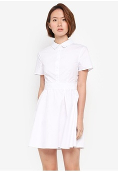 2532a054e5a8 Psst... we have already received your request. ZALORA. Fit   Flare Shirt  Dress