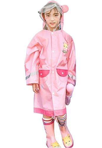 Twenty Eight Shoes pink VANSA Fashion Cartoon Raincoat VCK-R15280B CD919KACD0211EGS_1