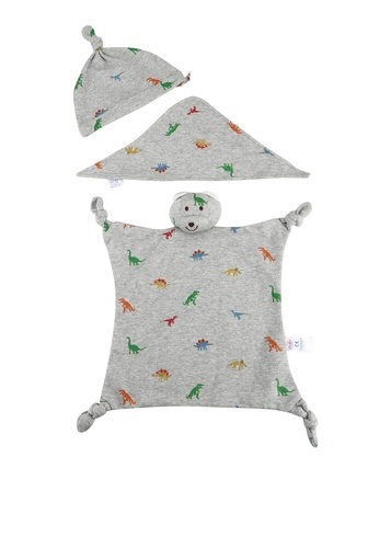 Cath Kidston grey Mini Dino Baby Accessories Gift Set 7C975KC5299048GS_1