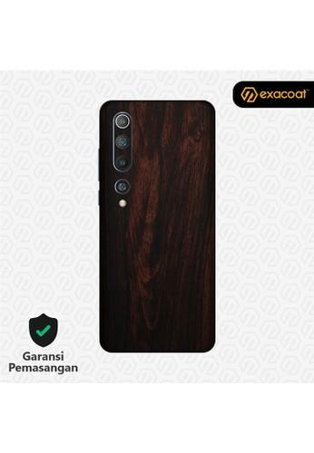 Exacoat Xiaomi Mi 10 3M Skins Wood Series - Wood Mahogany E4213ES359C189GS_1