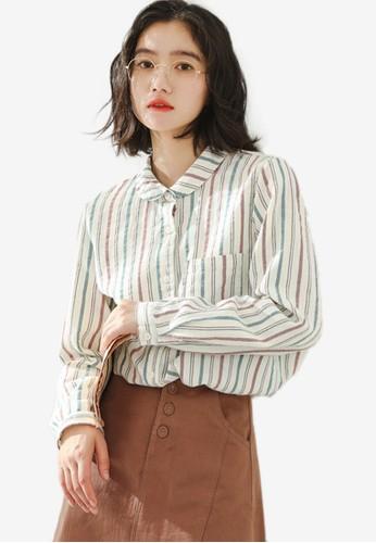 Shopsfashion white Loose Fit Shirt 9E8ABAA1039A89GS_1