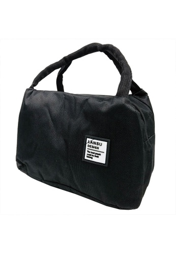 Poly-Pac black Poly-Pac XI8044 Thermal Insulated Canvas Lunch Box Bag-Black 87D3CKCED6D617GS_1