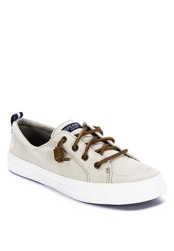 Sperry beige Crest Vibe Sneakers D5C94SH7D07E40GS_1