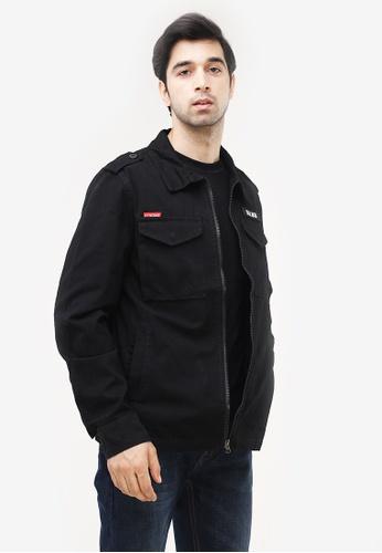 Dyse One black Canvass Jacket 8E891AAD71145BGS_1
