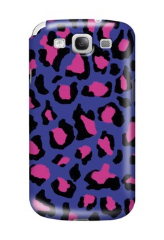 Funky Cheetah Print A Glossy Hard Case for Samsung Galaxy S3