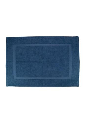 Martex SET OF 2 Martex (USA) RIVAGE 100% Combed Cotton Terry Bath Mat / 50 x 70cm/294g. 8C43FHL48F3892GS_1