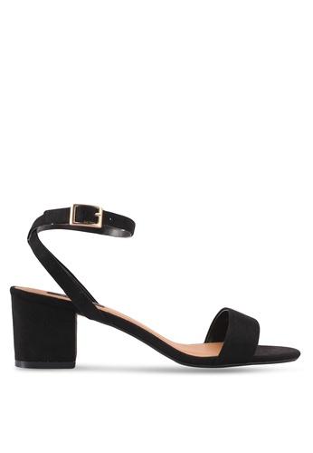ZALORA black Minimalist Low Chunky Heel F1370SH3F7F646GS_1