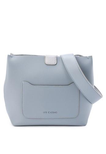 Les Catino blue Osashi Shoulder 3D274AC21220C7GS_1
