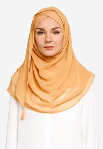 Bokitta orange Mango Instant Hijab 9F58EAA938F3E2GS_1