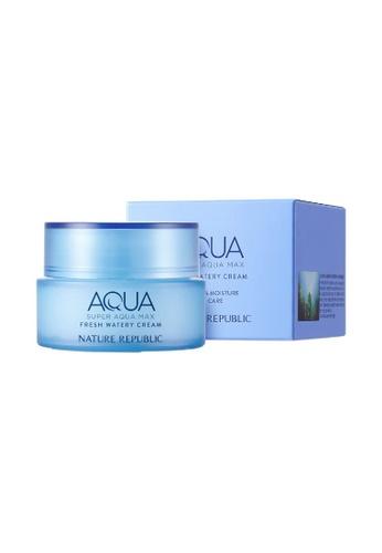 NATURE REPUBLIC Super Aqua Max Fresh Hydrating Cream 80ml 4D69DBED2356F3GS_1
