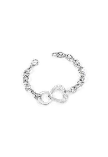 Morellato silver Senza Fine Bracelet SKT03 Steel Crystals 7CF87AC83CEF69GS_1