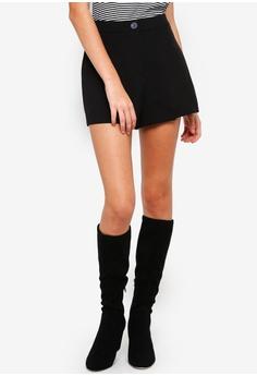 524827a4c2a Miss Selfridge black Black Tailored Shorts F5459AADBFDAC3GS_1