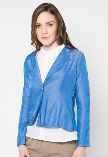 WISHFUL blue Farron Blazer WI930AA24YTVID_1