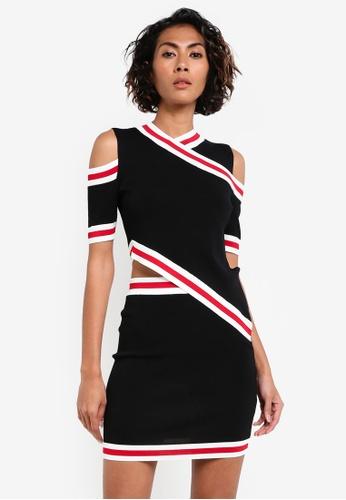 Glamorous black Cut Out Dress GL059AA0RL2YMY_1