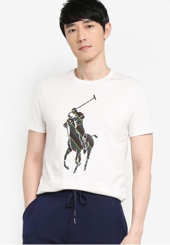 Polo Ralph Lauren white Short Sleeve T-Shirt 9375EAA7A69864GS_1