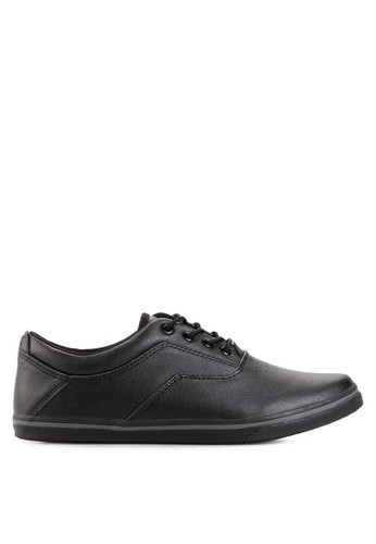Spotec black Jessy Syntethyc Vulcanized Shoes SP567SH53YIWID_1