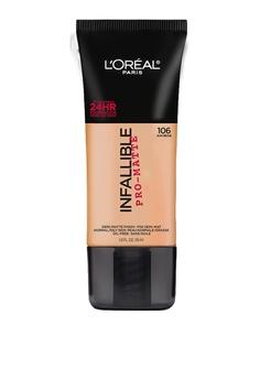 L'Oréal Paris beige Infallible Pro-Matte Foundation in Sun Beige LO674BE39RVCPH_1