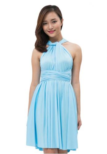 bf932e4194b COVETZ Wedding blue Kaelyn Convertible Dress - Baby Blue CO611AA60DDBMY 1
