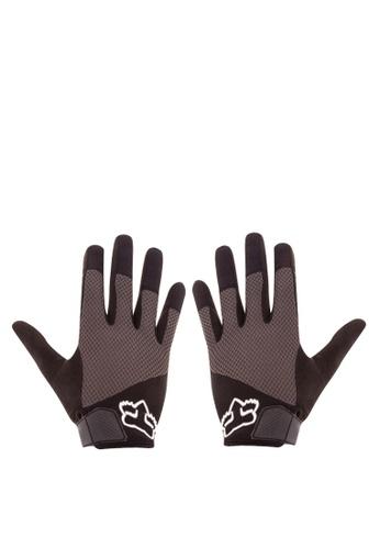 Fox Racing black Reflex Gel Gloves FO276AC0KAB6PH_1