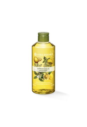 Yves Rocher Energizing Lemon Basil Bath Shower Gel 400ml YV460BE58LJLSG_1
