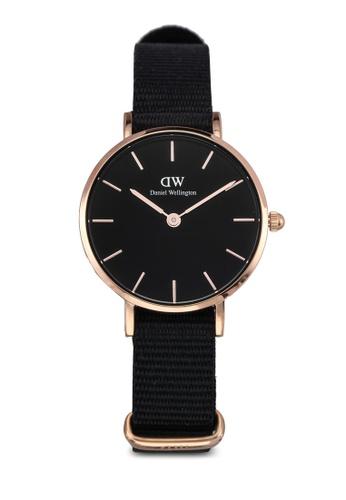 Daniel Wellington black Petite Cornwall Watch 28mm DA376AC0SBUJMY_1