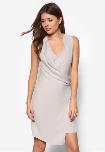 裹飾低胸連身裙, 服飾, esprit hong kong 分店服飾