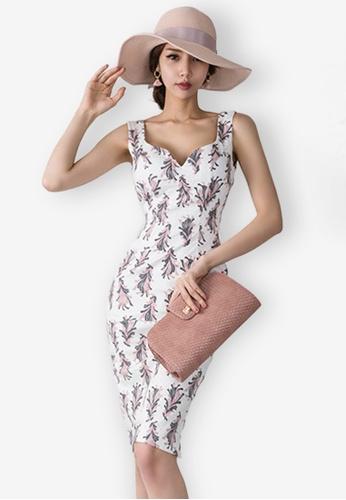Sunnydaysweety multi Pattern Polyester Vest Dress 72AC9AA6B654D8GS_1