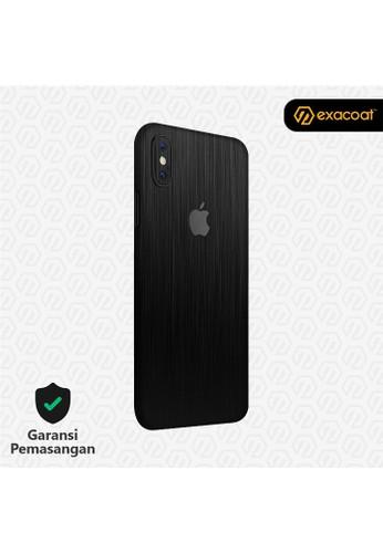 Exacoat iPhone XS Skins Titanium Black - Cut Only 84D9CES63BAFEFGS_1