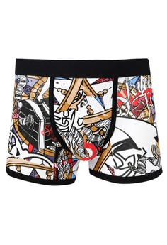Men's Printed Boxer Brief