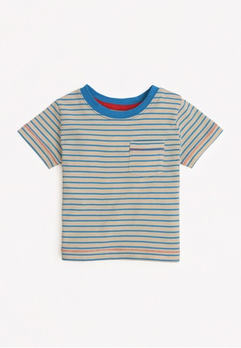 Gingersnaps blue Baby Boys Pocket Detail T-Shirt C6E30KA797C1F9GS_1