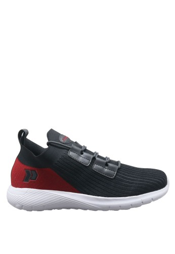 Precise grey Precise Phantom M Sepatu Sport Pria - Abu/Merah 12CD5SHA397AA9GS_1