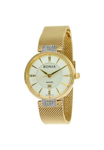 Bonia gold Bonia B10442-2222 - Jam Tangan Analog Wanita - Gold 3EC31AC7C1D3ACGS_1