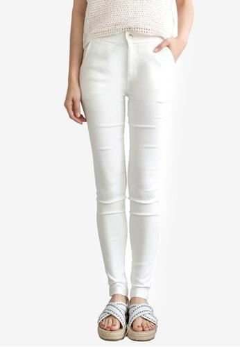 Tokichoi white Basic Skinny Pants A09FEAAE66EC7FGS_1