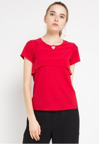 X8 red Emilie Blouses X8323AA0WENBID_1